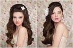 Свадебные причёски. Модные тенденции 2013.