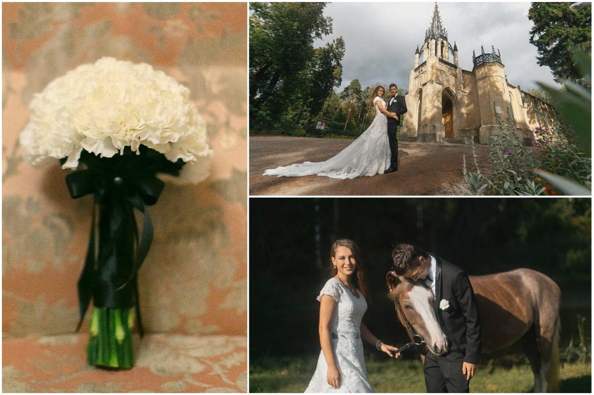 Чёрно-белая свадьба