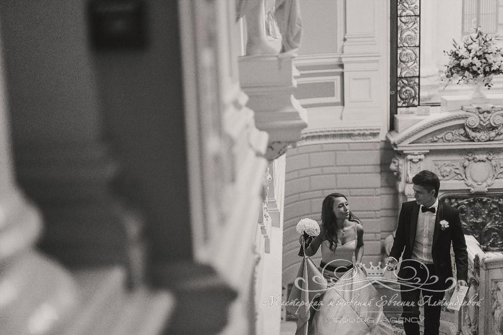Фотосессия во Дворце бракосочетаний на Английской набережной