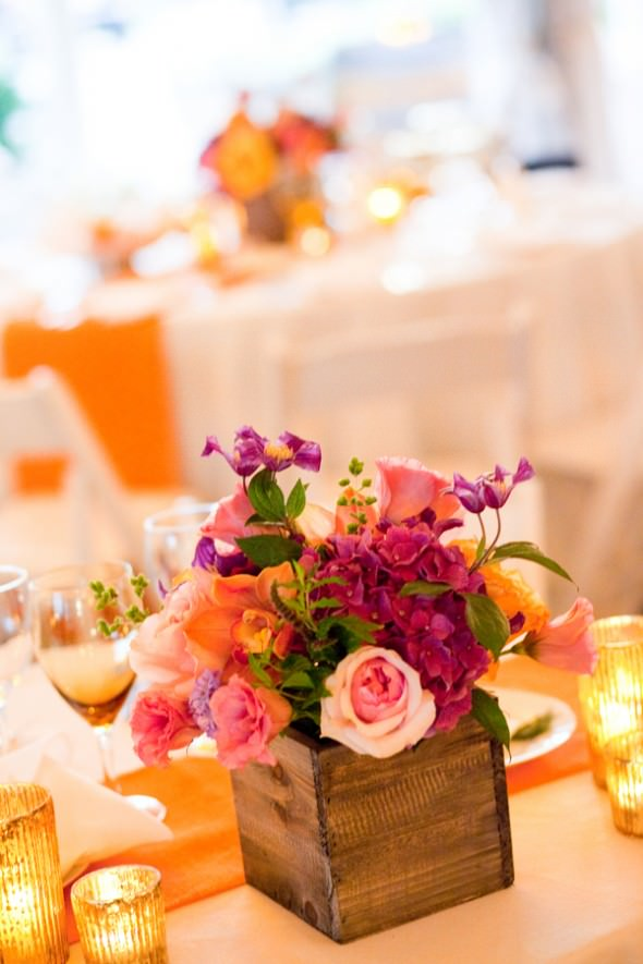 Rustic-композиция на столы гостей