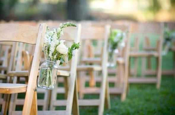 Оформление дорожки к свадебной арке