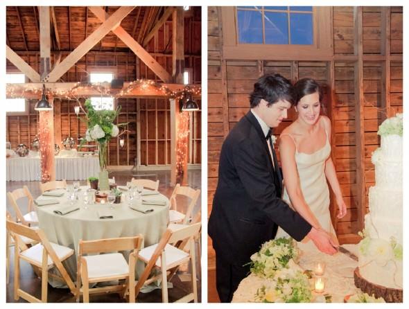 Оформление деревянного ангара на свадьбе