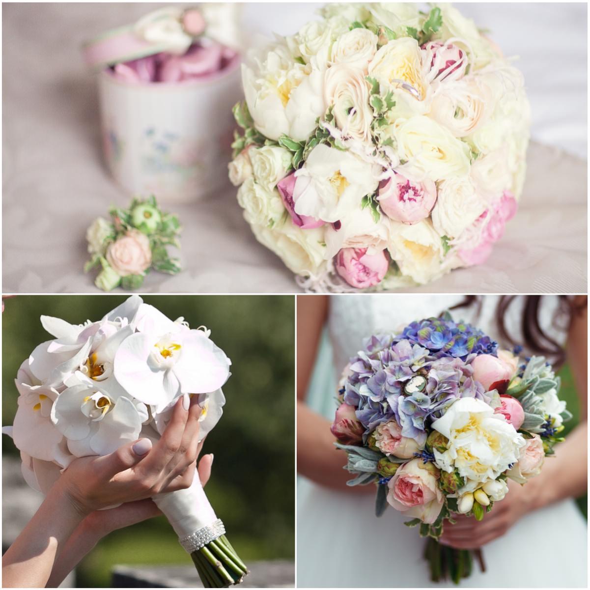 Роскошные свадебные букеты на любой вкус