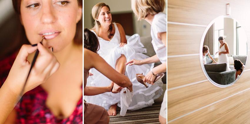 Работа свадебного стилиста над образом невесты