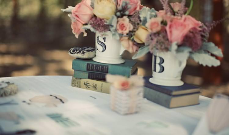 Идеи декора книжной свадьбы