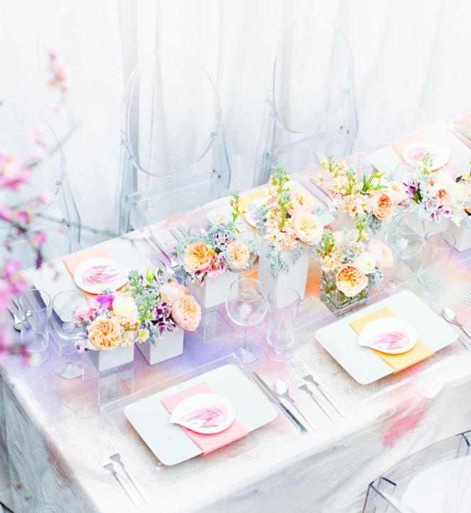 Красивая свадебная палитра