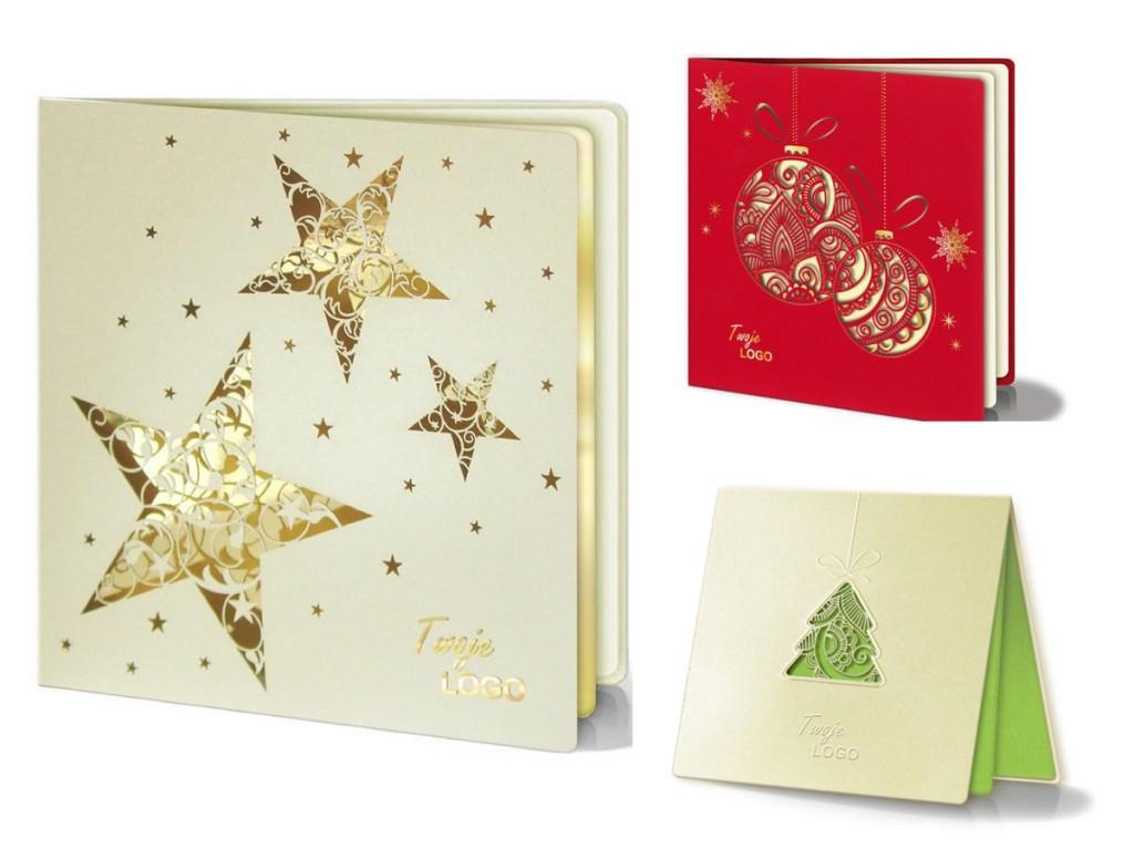 Корпоративные новогодние открытки из Европы