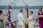 Свадьба в Лесной рапсодии.