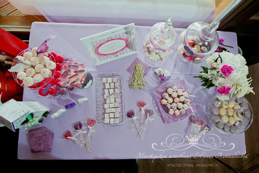 Кэнди бар на свадьбе