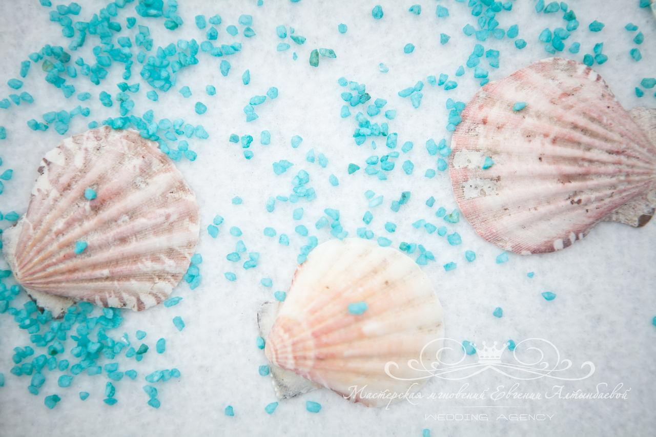 Элементы морской свадьбы