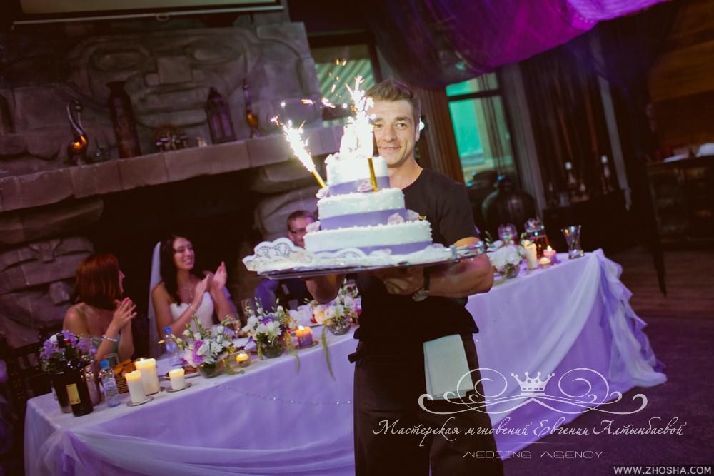 Феерверки для свадебного торта