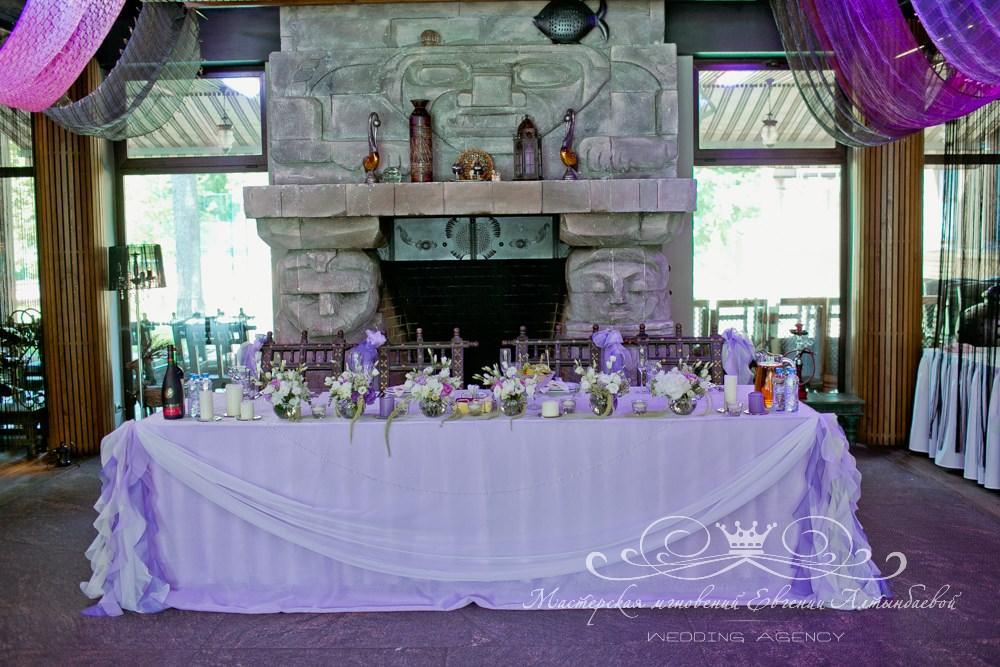 Фиолетовая свадьба в Касабланке