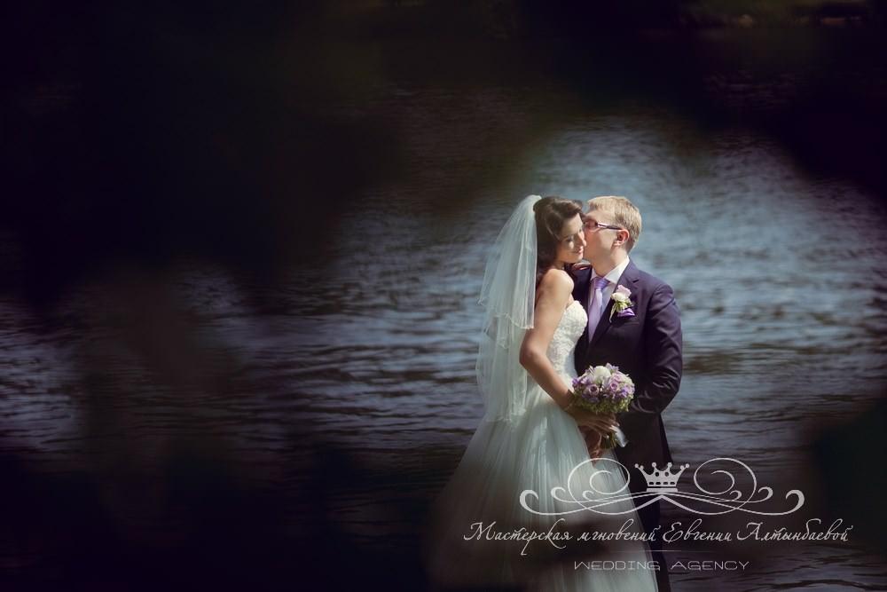 Красивая свадебная фотография