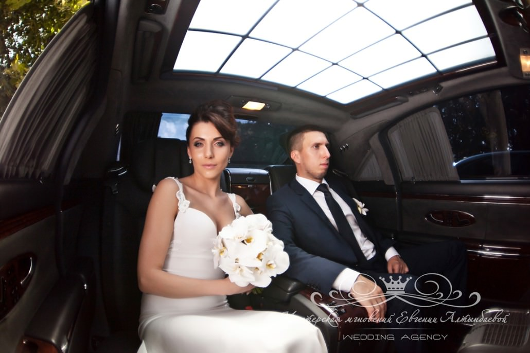 maybach на свадьбе