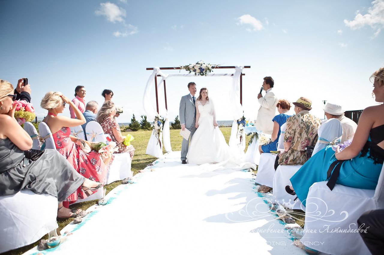Морская свадьба в Терийоки