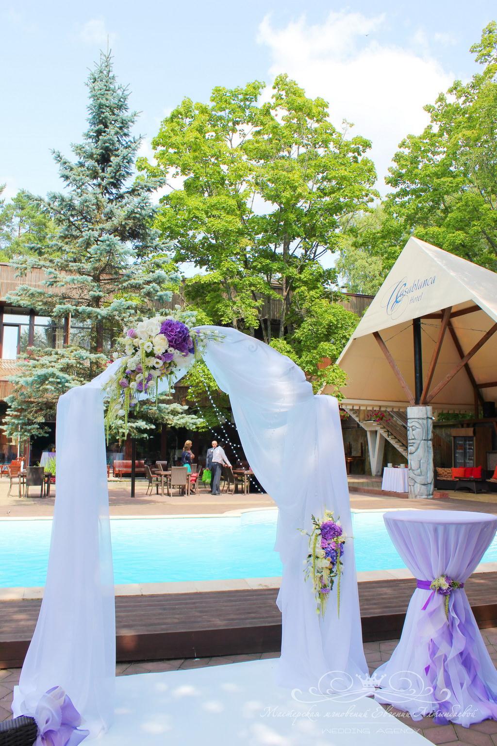 Оформление свадьба в Касабланке