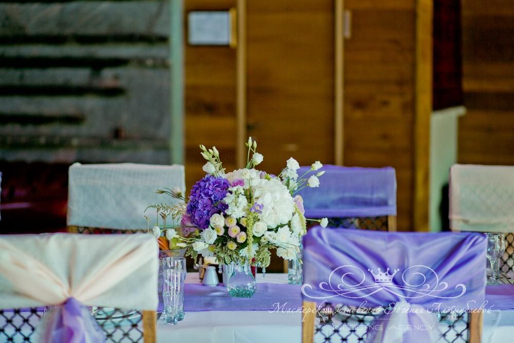 Оформление зала на свадьбе в Касабланке