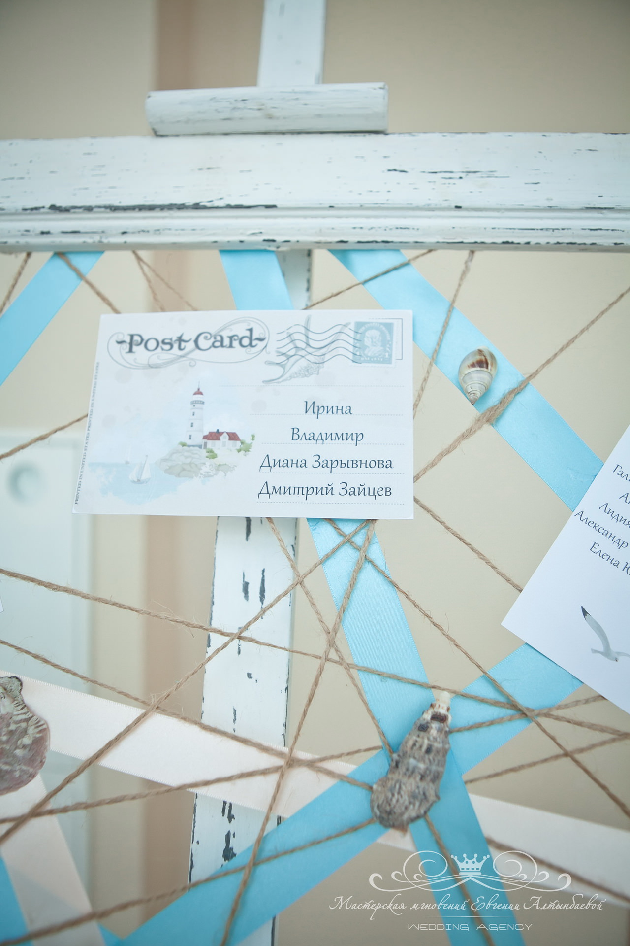 План рассадки на свадьбе в яхт-клубе Терийоки