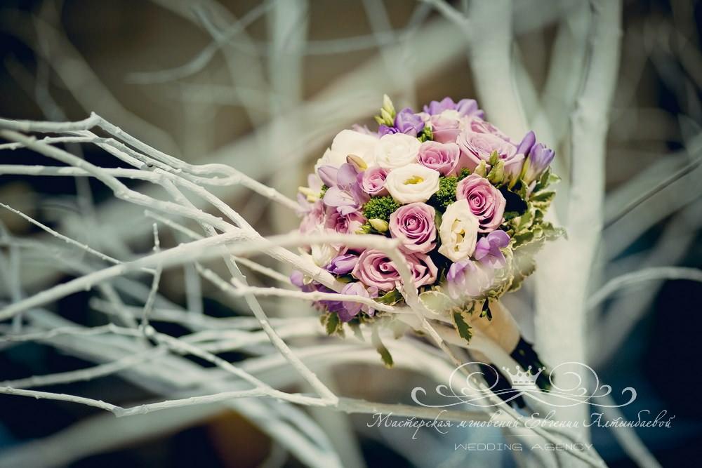Роскошный букет невесты