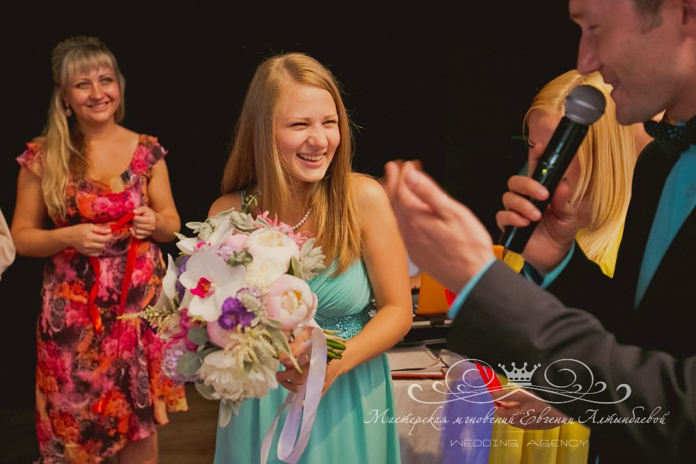 Розыгрыш букета невесты