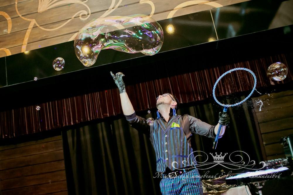 Шоу мыльных пузырей Красноперов