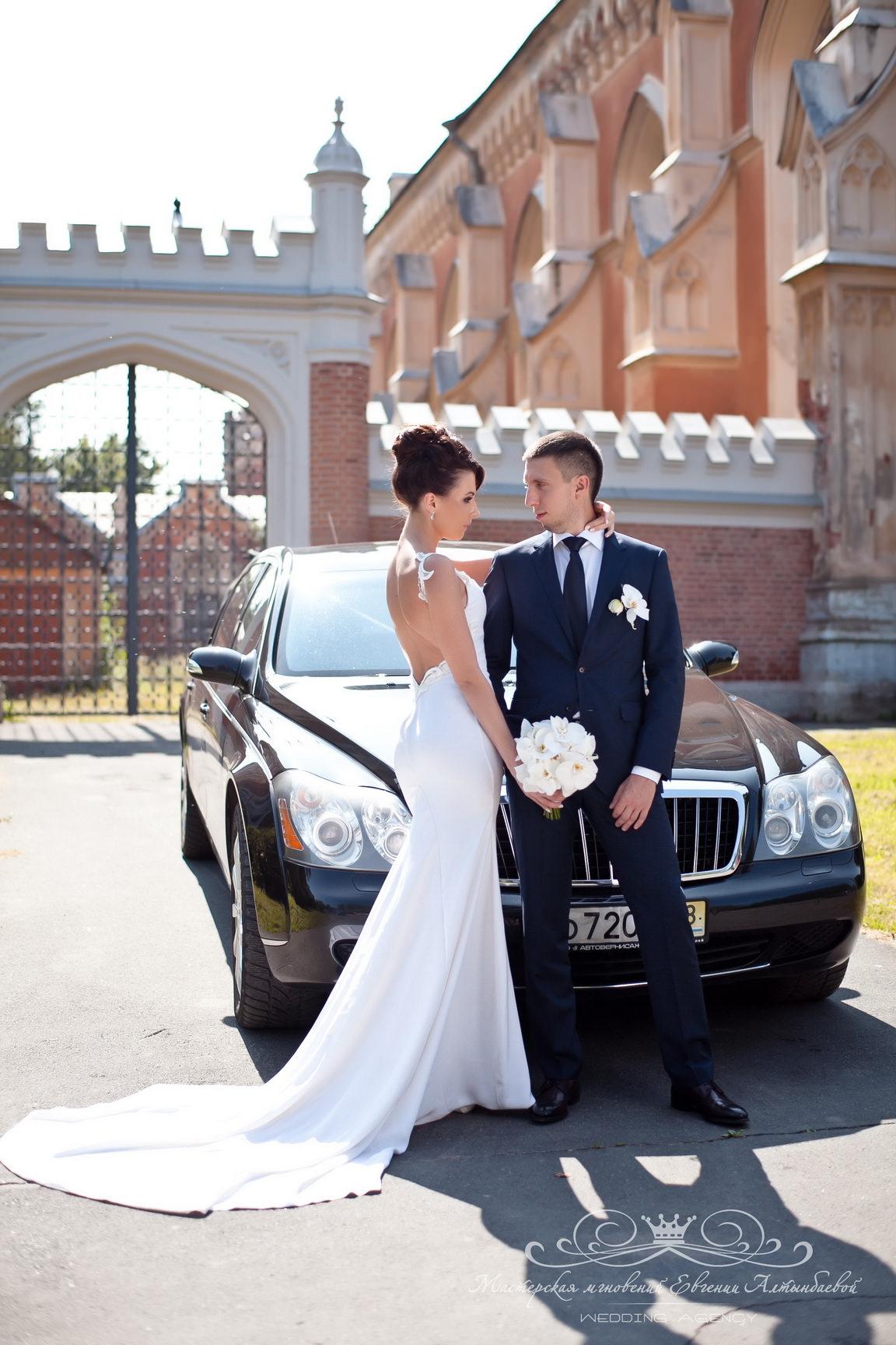 Стильный образ жениха и невесты