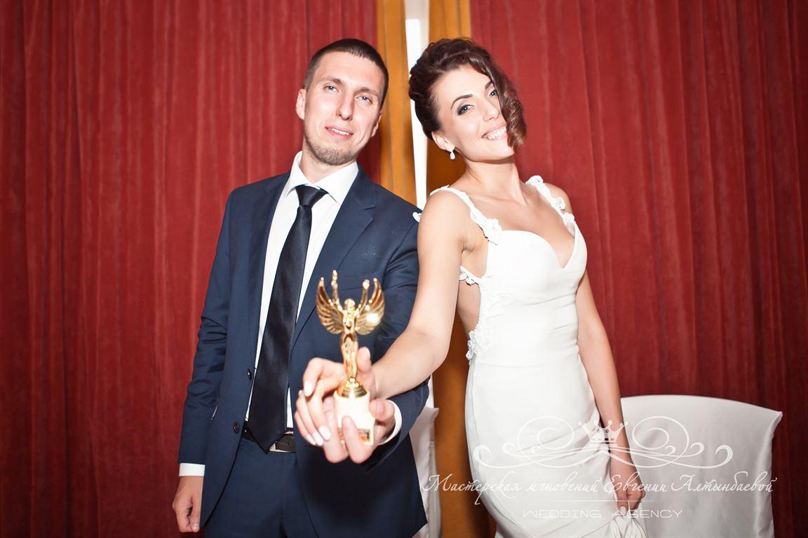 Свадьба в стиле кино, вручение кинопермий