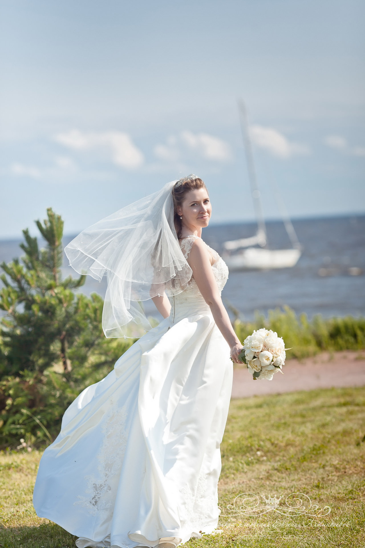 Свадебная фотосессия на заливе