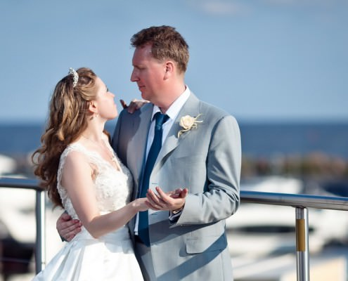 свадебная фотосессия в яхт-клубе Терийоки