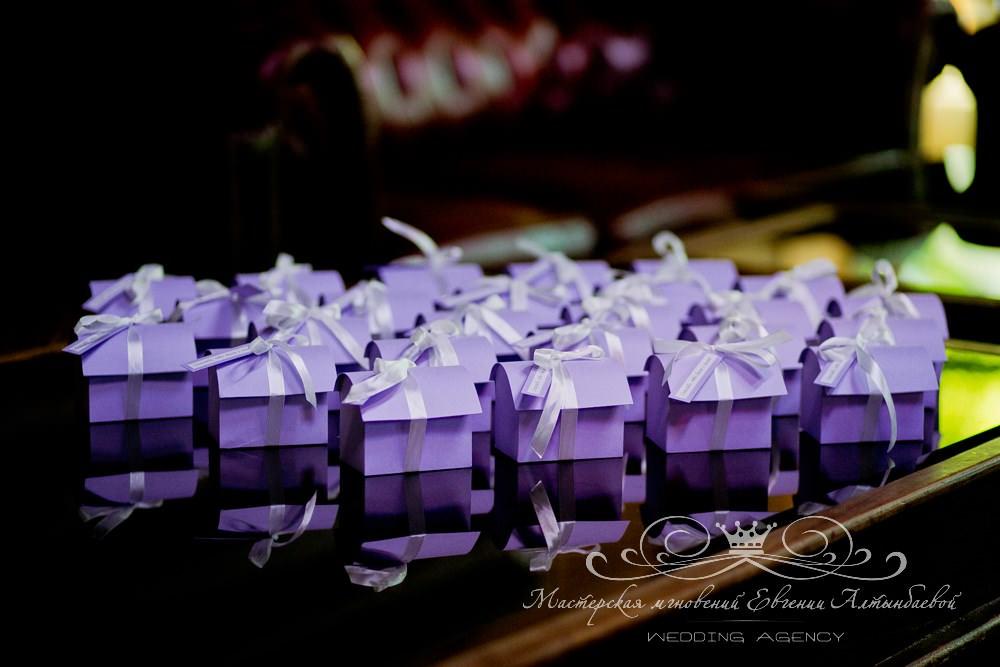 Свадебные бонбеоньерки