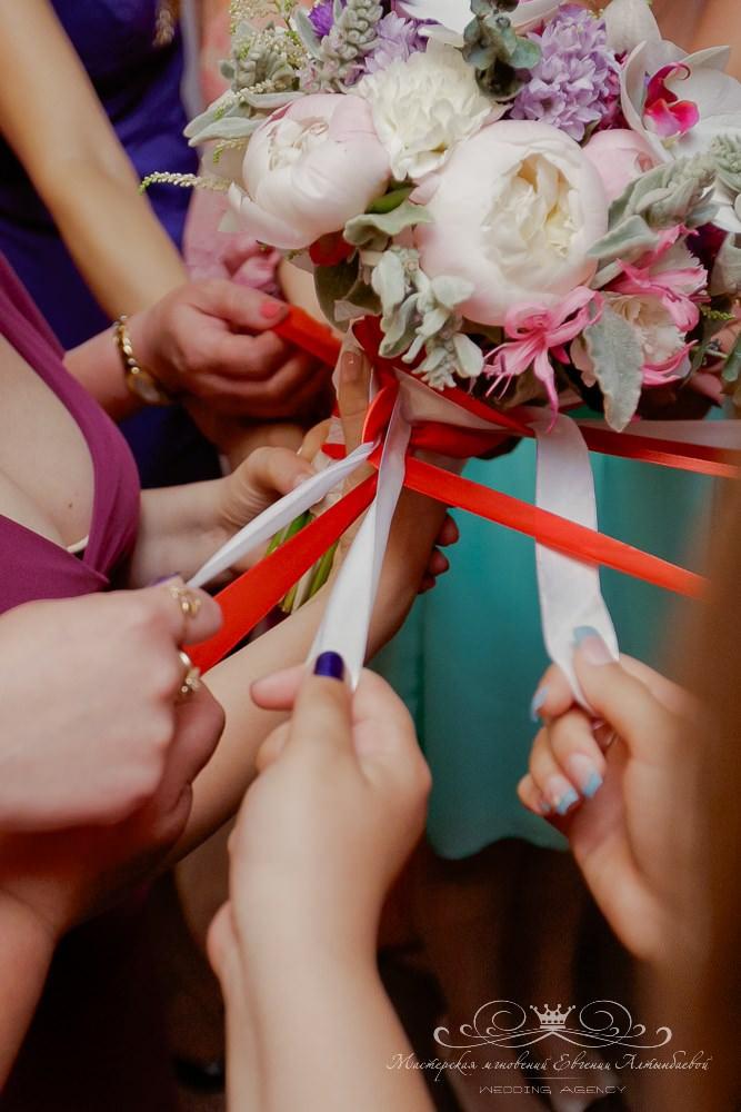 Традиция свадебного букета