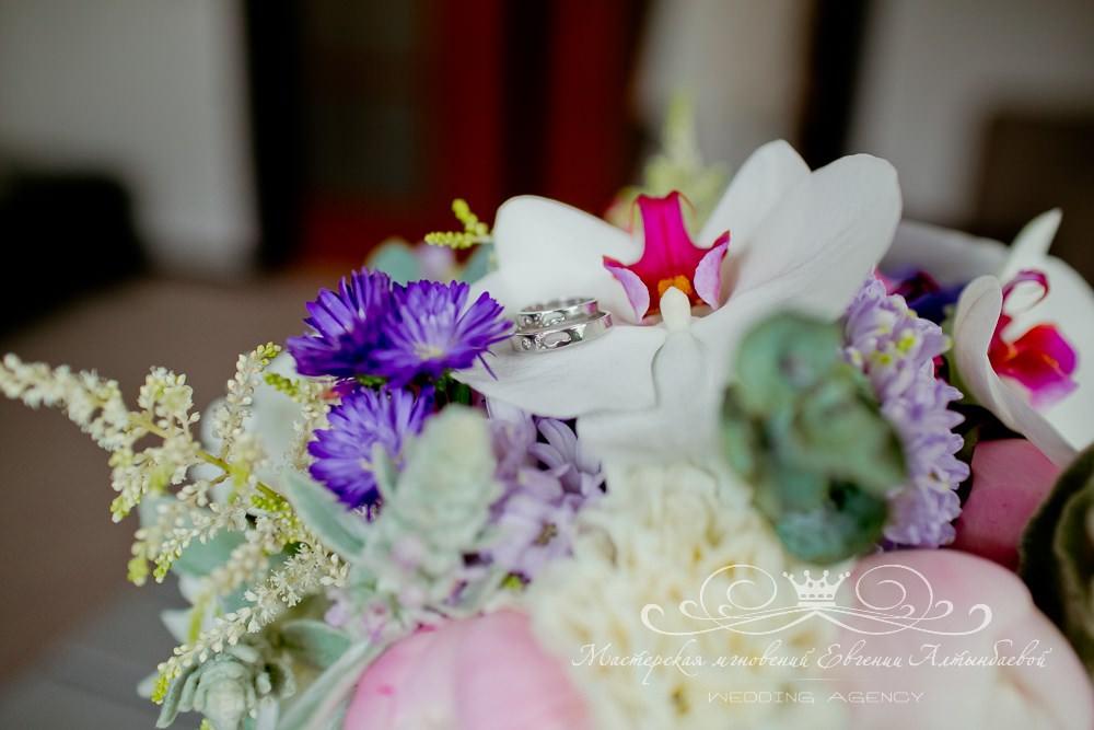 Яркая свадебная палитра