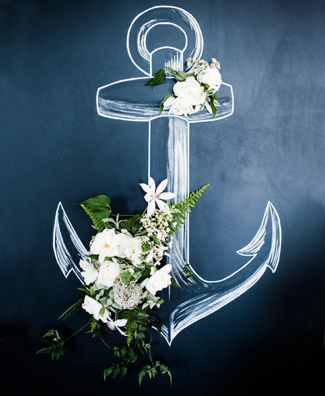 Свадебная фотосессия в морском стиле