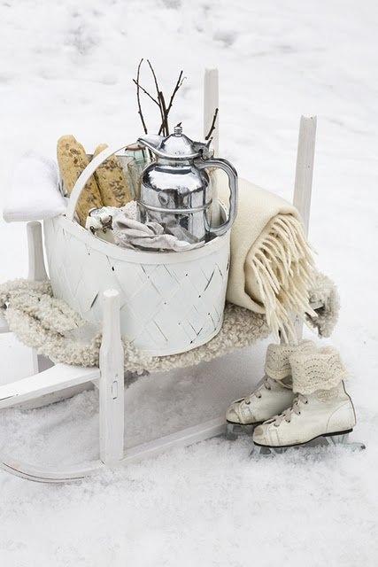 Детали оформления зимней свадьбы