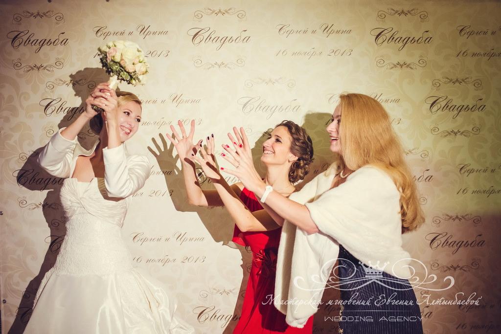 Фотостена на свадьбе