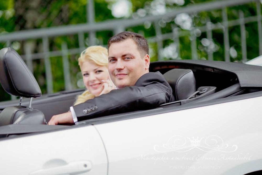 Кабриолет для жениха и невесты