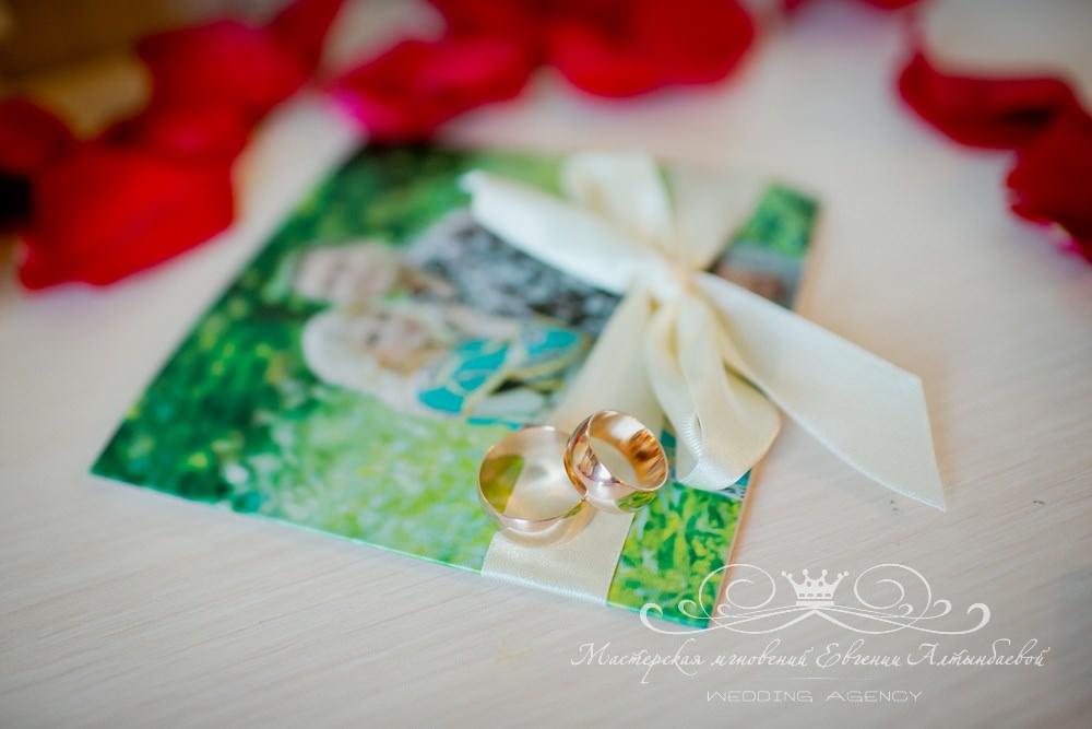 Красивые приглашения на свадьбу с фотографией