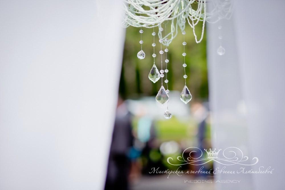 Стильное оформление свадьбы под ключ