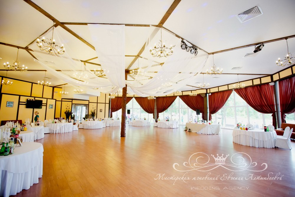 Свадьба в ресторане Драгунский Ручей