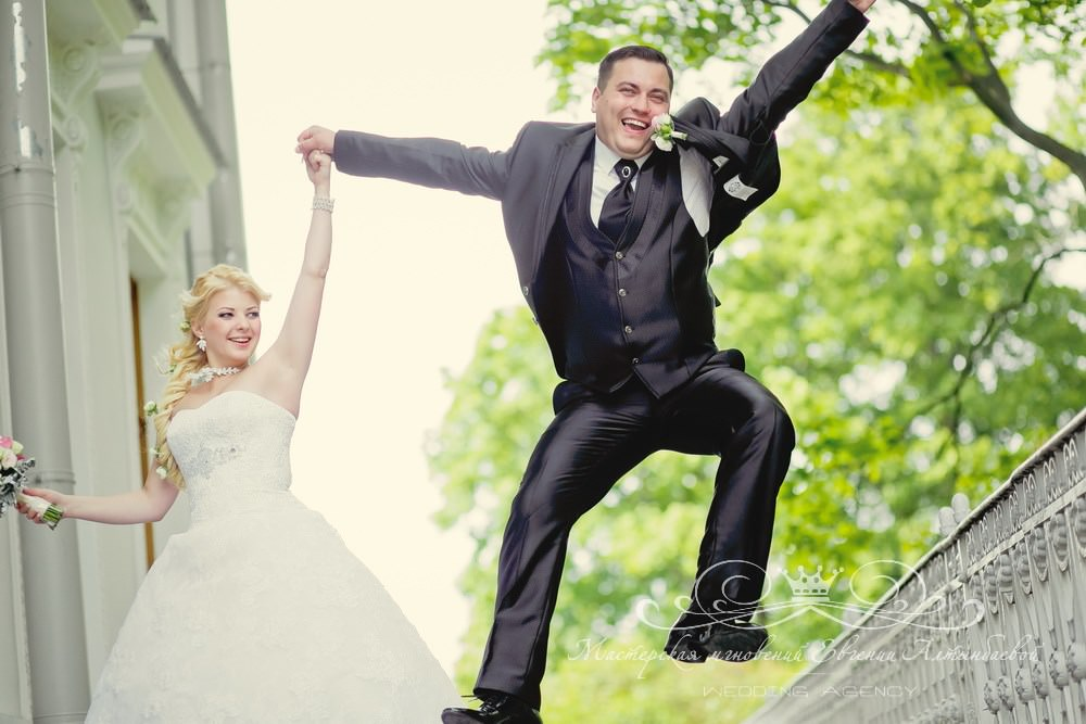 Свадебная фотосессия в Елагином дворце