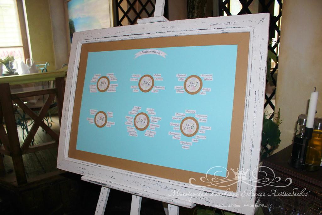 Свадебный план рассадки