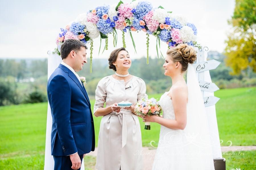 Организация свадьбы под ключ в Спб