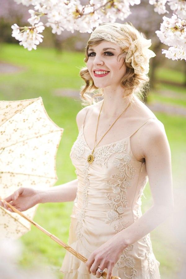Роскошный образ невесты в стиле ретро