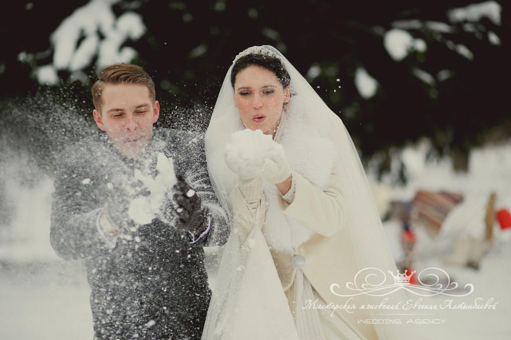 организация зимней свадьбы под ключ