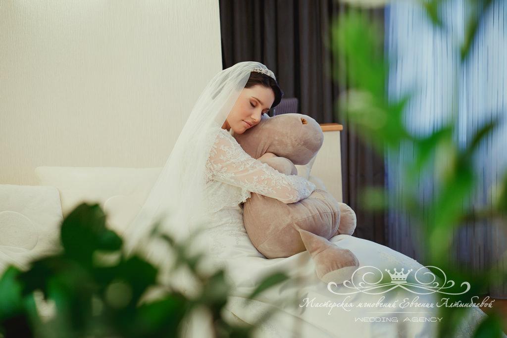 Съемки утра невесты
