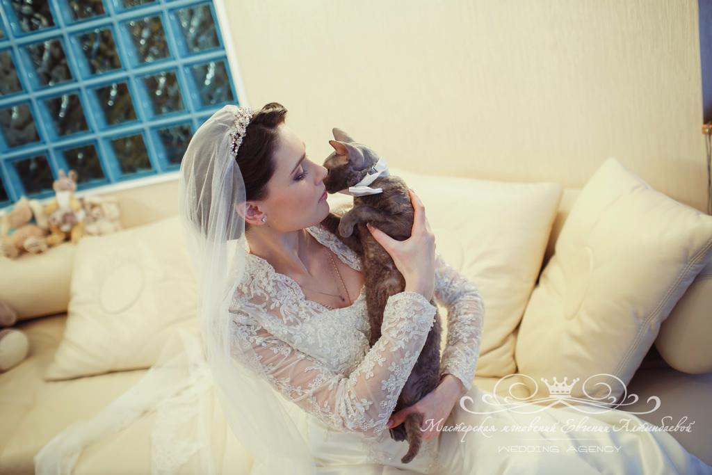 стильная фотосессия невесты