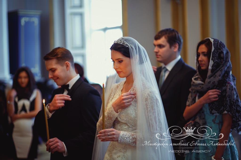 венчание в день свадьбы