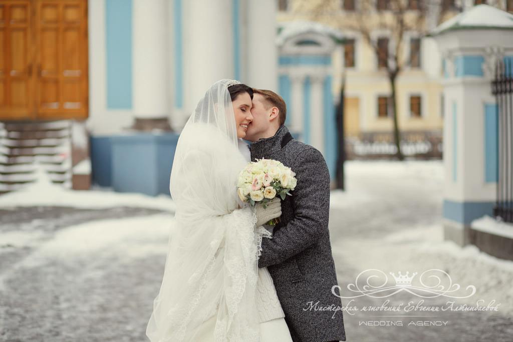 зимняя свадьба в Петербурге