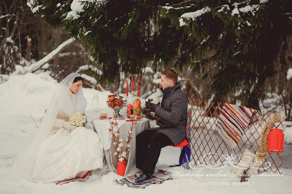 зона фотосессии на свадьбе