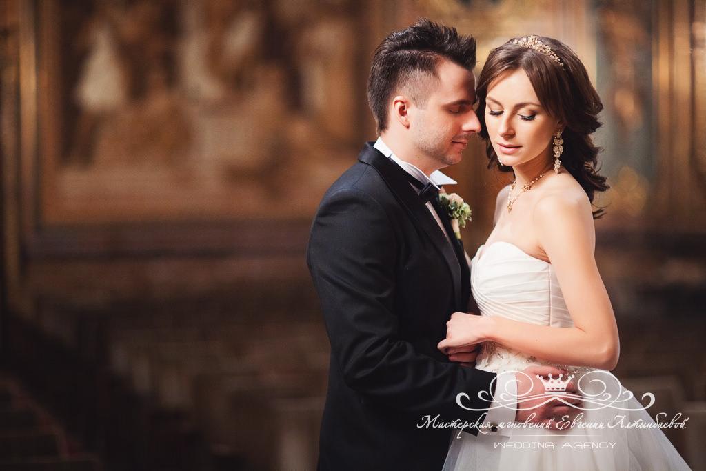 Красивые образы жениха и невесты